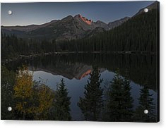 Acrylic Print featuring the photograph Bear Lake by Gary Lengyel