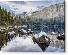 Bear Lake Holiday Acrylic Print