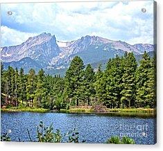 Bear Lake Acrylic Print by Richard Burr