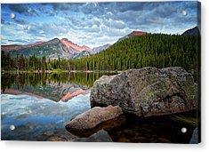 Bear Lake Rocky Mountain National Park 3172  Acrylic Print by Ken Brodeur