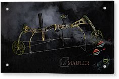Acrylic Print featuring the photograph Bear Mauler by Tim Nichols