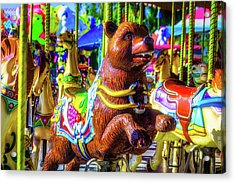 Bear Ride Acrylic Print