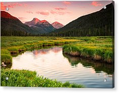 Bear River Sunset Acrylic Print