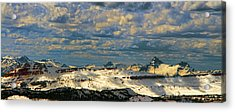 Bear Tooth Mountain Range Acrylic Print