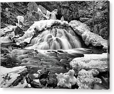 Bear's Den Waterfall Acrylic Print