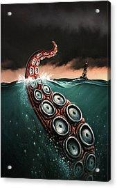 Beast 1 Acrylic Print by Jerry LoFaro