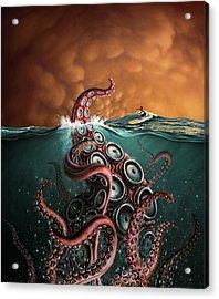Beast 3 Acrylic Print by Jerry LoFaro