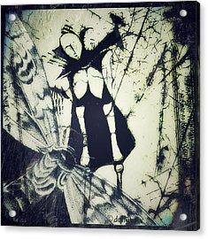 Beating Of Wings Acrylic Print