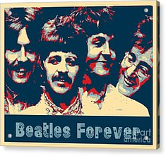 Beatles Forever Acrylic Print