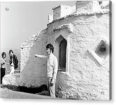 Acrylic Print featuring the photograph Beatles John Lennon Magical Mystery by Chris Walter