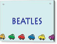 Beatles Acrylic Print by Tina M Wenger