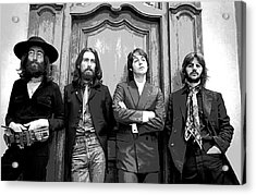Beatles Together For Last Time Acrylic Print