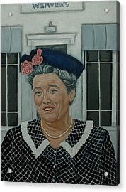Beatrice Taylor As Aunt Bee Acrylic Print by Tresa Crain