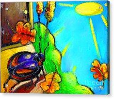 Beattle Acrylic Print by Angelina Marino