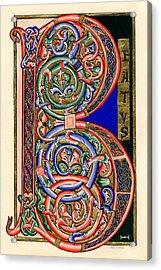 Beatus Acrylic Print by Judy Dodds