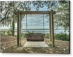 Acrylic Print featuring the photograph Beaufort Fall 2017 13 by Jim Dollar