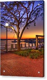 Beaufort Waterfront Acrylic Print