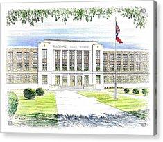 Beaumont High School Acrylic Print