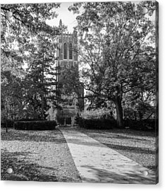 Beaumont Tower Acrylic Print by Larry Carr