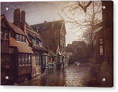 Beauteous Bruges Acrylic Print by Carol Japp