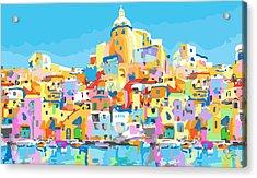 Beautiful Island Of Procido, Italy Acrylic Print