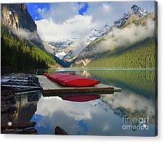 Beautiful Banff Acrylic Print