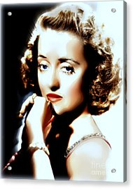 Beautiful Bette Acrylic Print