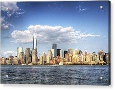 Beautiful Big Apple Acrylic Print by Zev Steinhardt