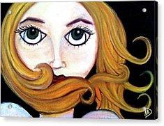 Beautiful Blonde Acrylic Print