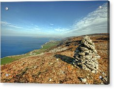 Beautiful Burren View Acrylic Print by John Quinn