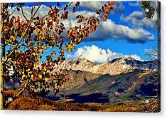 Beautiful Colorado Acrylic Print by Ellen Heaverlo