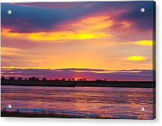 Beautiful Colorful Boulder County Winter Morning Acrylic Print by James BO  Insogna
