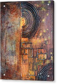 Beautiful Corrosion Acrylic Print