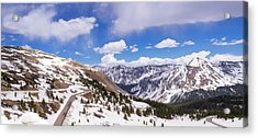 Acrylic Print featuring the photograph Beautiful Cottonwood Pass by Tim Reaves