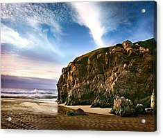 Beautiful Cove Acrylic Print by Edward Mendes
