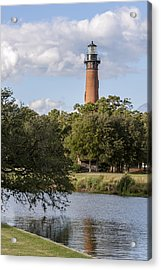 Beautiful Day At Currituck Beach Lighthouse Acrylic Print