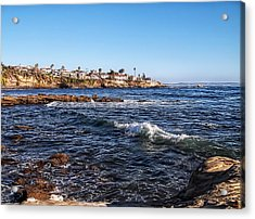 Beautiful Day In La Jolla Acrylic Print