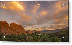 Beautiful Earth And Sky Acrylic Print