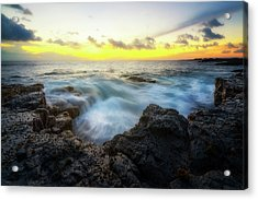 Acrylic Print featuring the photograph Beautiful Ending by Ryan Manuel