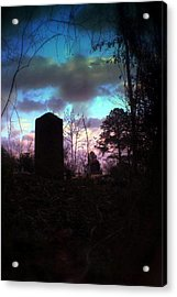 Beautiful Evening In The Graveyard Acrylic Print