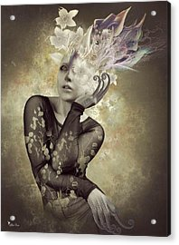 Beautiful Freak Acrylic Print by Ali Oppy