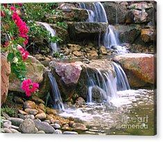 Beautiful Garden  Acrylic Print by Yali Shi