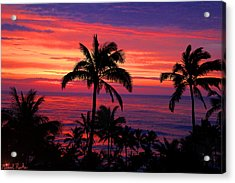 Beautiful Hawaiian Sunset Acrylic Print