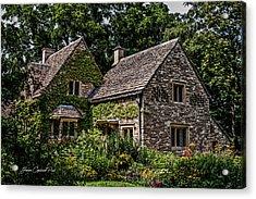 Beautiful Home Acrylic Print by Joann Copeland-Paul