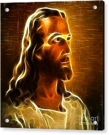 Beautiful Jesus Portrait Acrylic Print