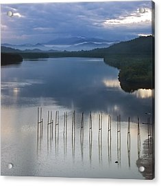 Beautiful Landscape Acrylic Print by Ng Hock How