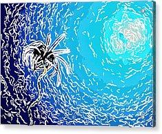 Beautiful Marine Plants 2 Acrylic Print by Lanjee Chee