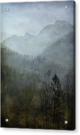 Beautiful Mist Acrylic Print