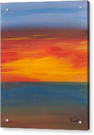 Beautiful Morning Acrylic Print by Bonnie Rabert