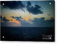 Beautiful Morning Acrylic Print by Judy Hall-Folde